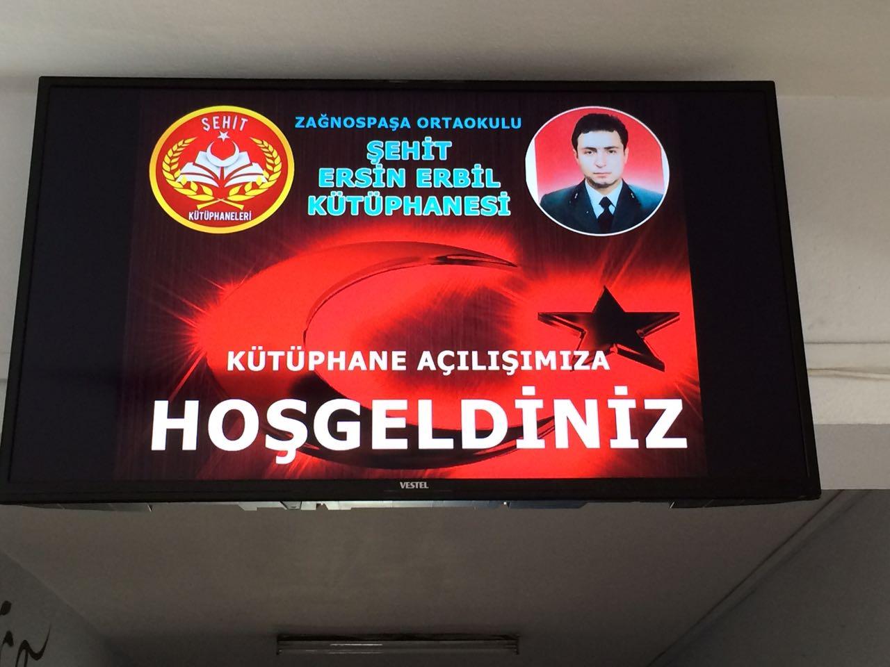 Şehit Astsubay Ersin ERBİL