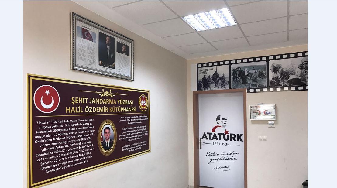Şehit Jandarma Yüzbaşı Halil ÖZDEMİR