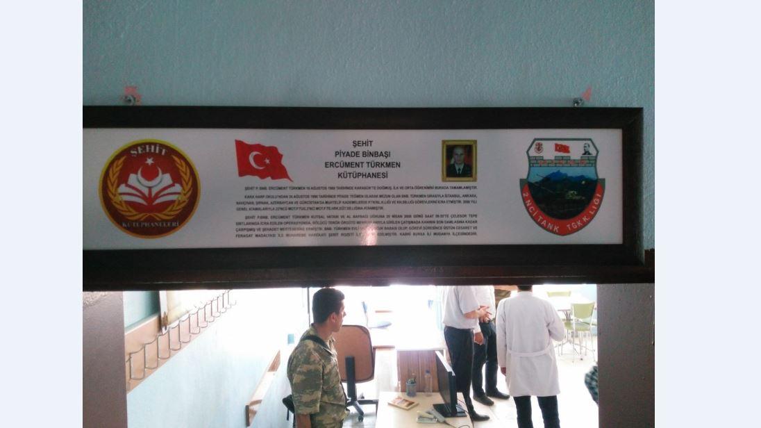 Şehit P.Binbaşı Ercüment TÜRKMEN