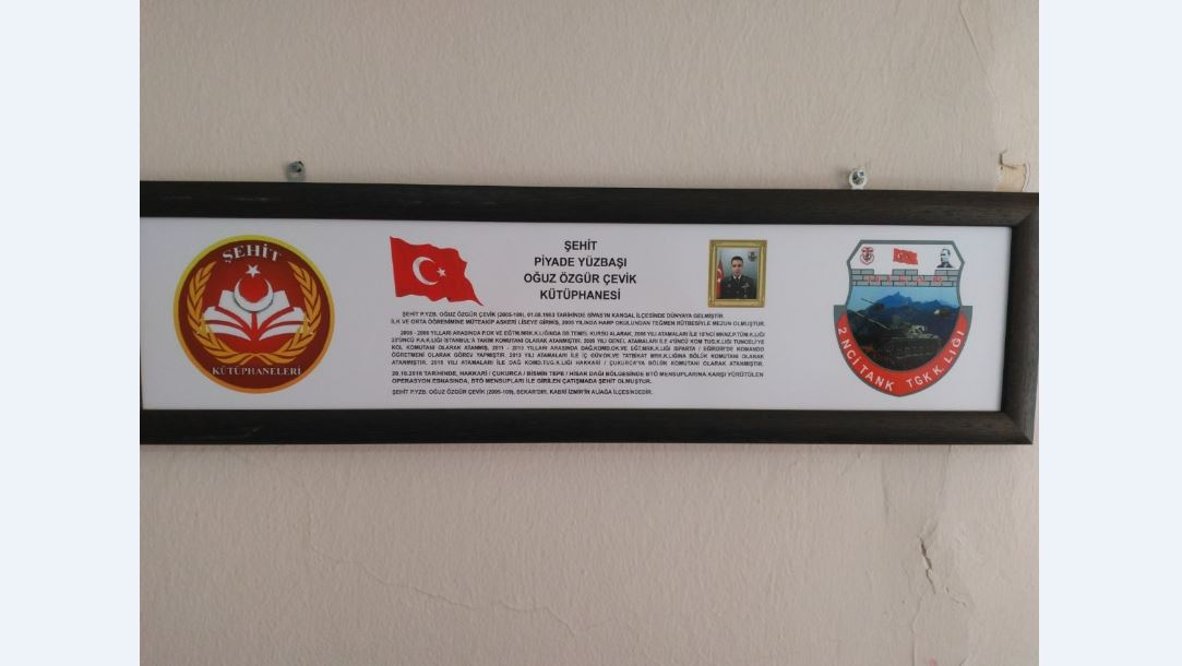 Şehit P.Yüzbaşı Oğuz Özgür ÇEVİK