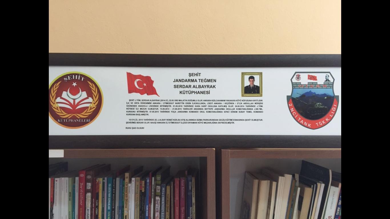 Şehit J.Teğmen Serdar ALBAYRAK