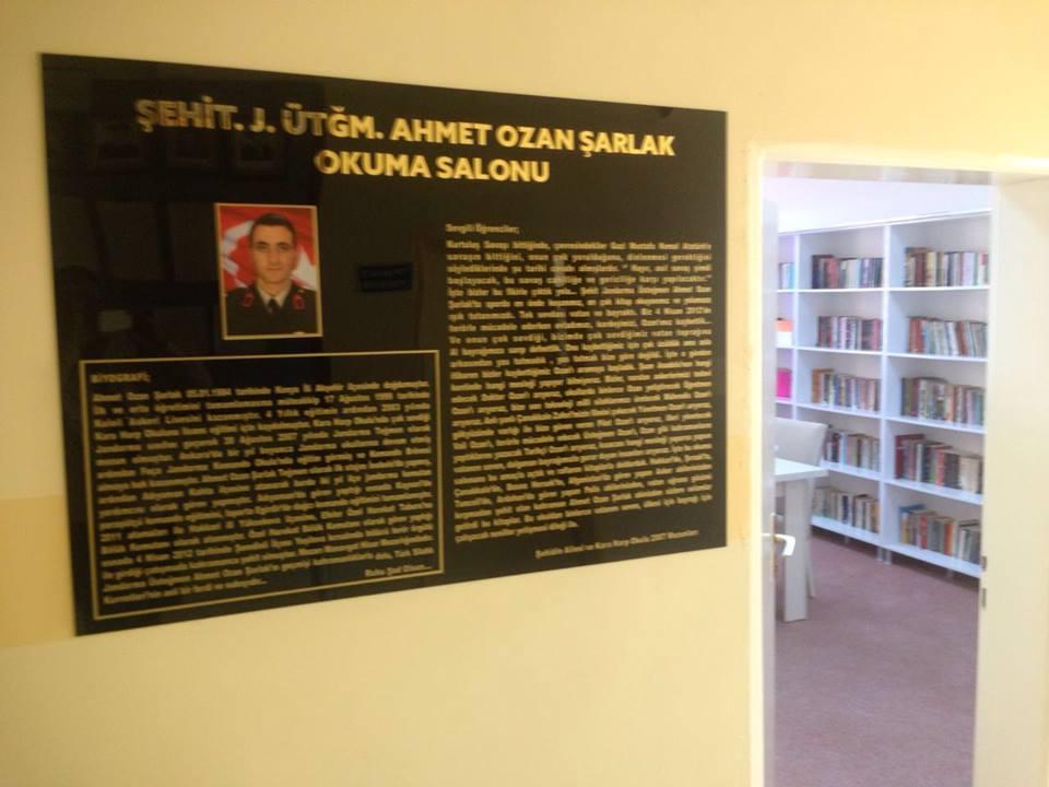 Şehit Jandarma Üsteğmen Ahmet Ozan ŞARLAK