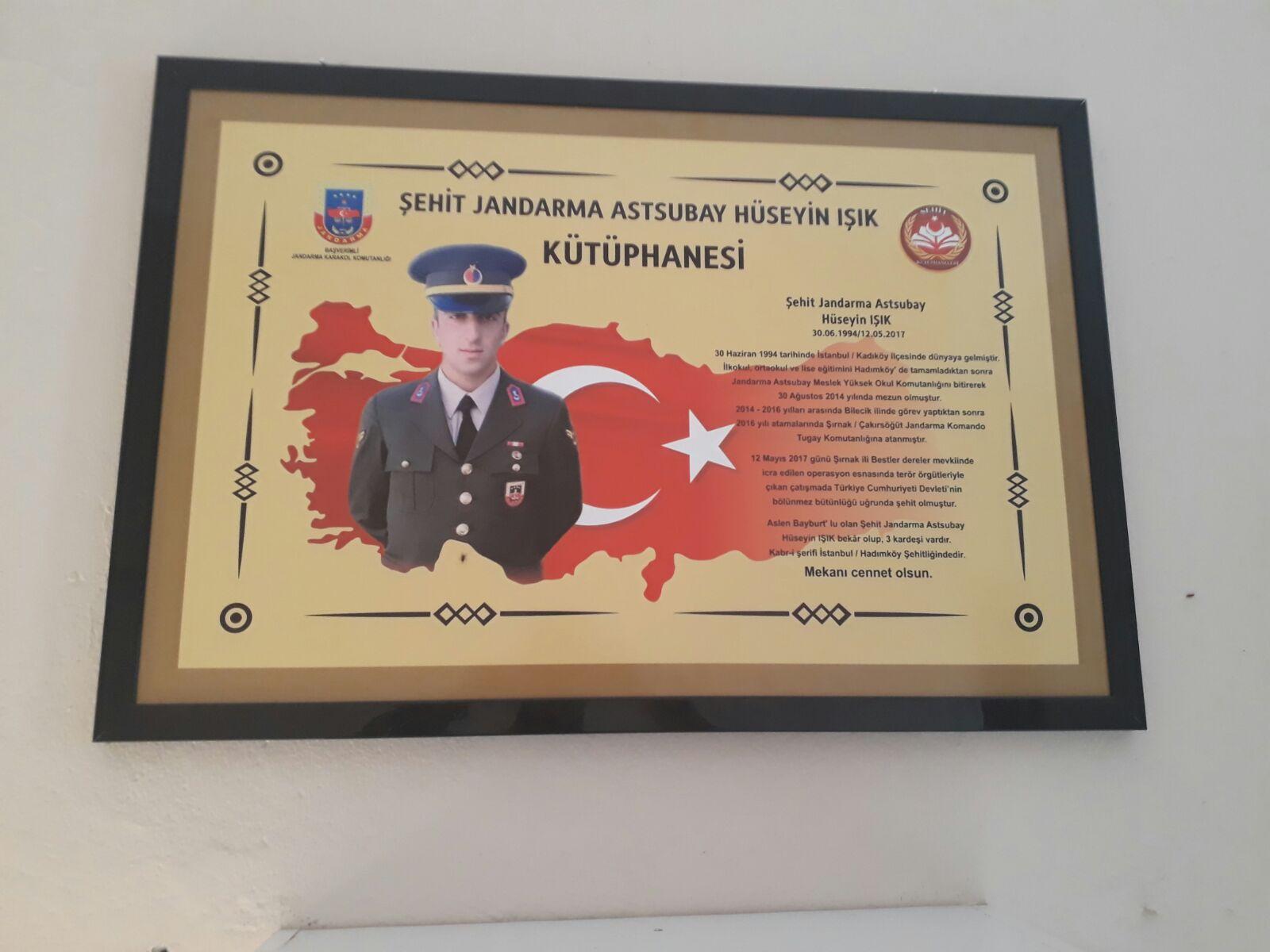 Şehit Jandarma Astsubay Hüseyin IŞIK
