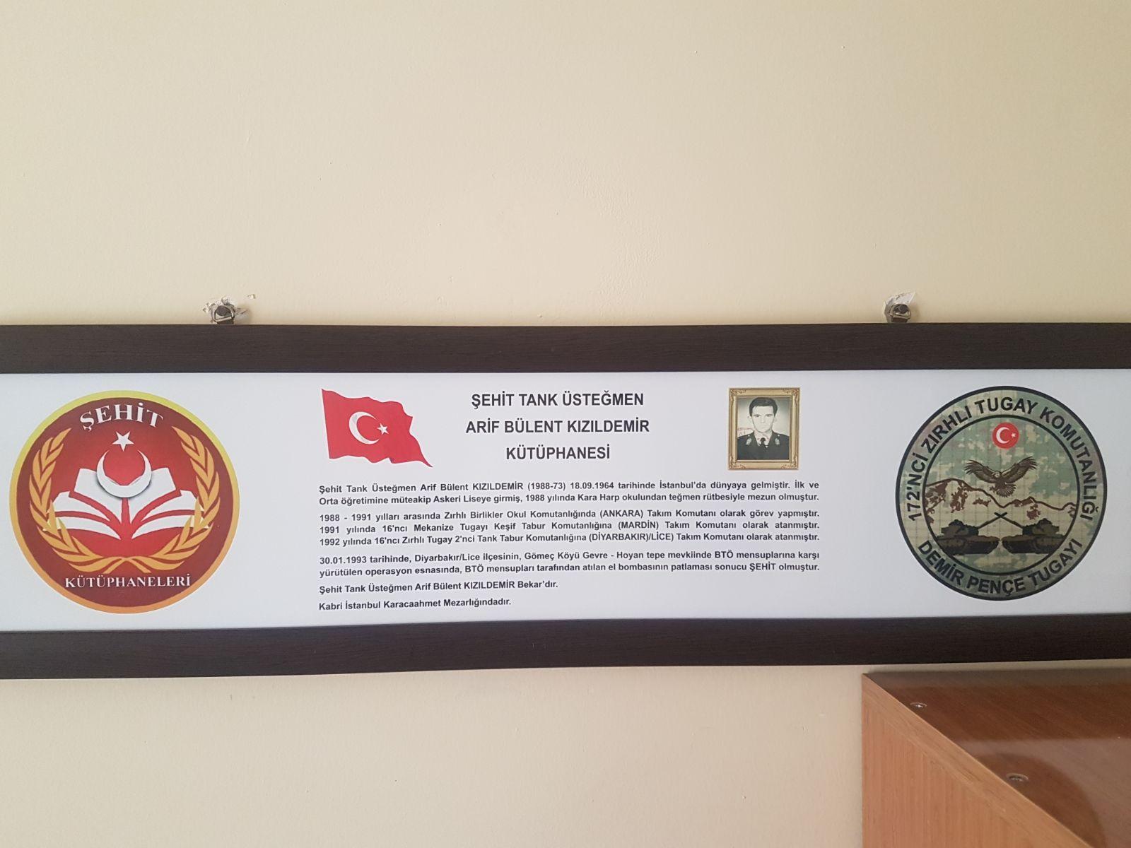Şehit Tank Üsteğmen Arif Bülent KIZILDEMİR