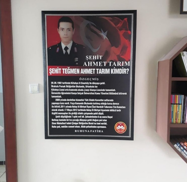 Şehit Teğmen Ahmet TARIM